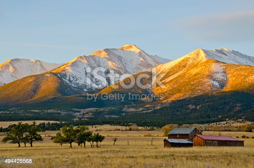 istock Mount Princeton Morning Light 494425568