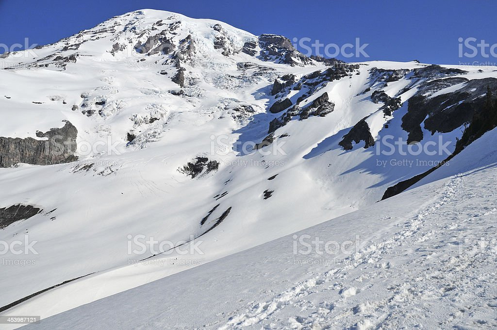 Mount Rainier, North Cascades, Washington royalty-free stock photo