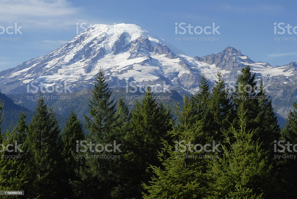 Mount Rainier royalty-free stock photo