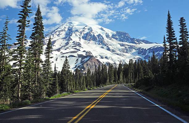 Mount Rainier, Washington Mount Rainier National Park, In the North Cascades pierce county washington state stock pictures, royalty-free photos & images