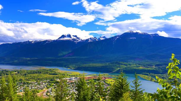 Mount Revelstoke, British, Columbia Canada stock photo