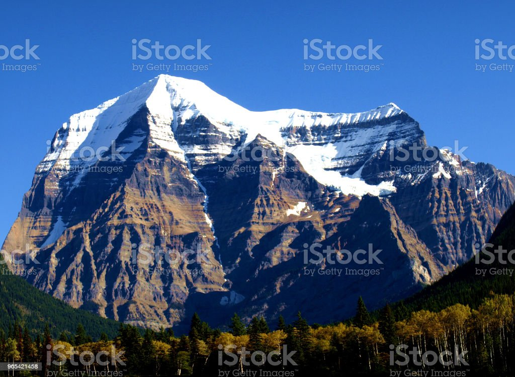 Mount Robson, British Columbia, Kanada - Lizenzfrei Berg Stock-Foto