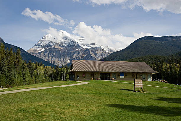 Mount Robson, Canada stock photo