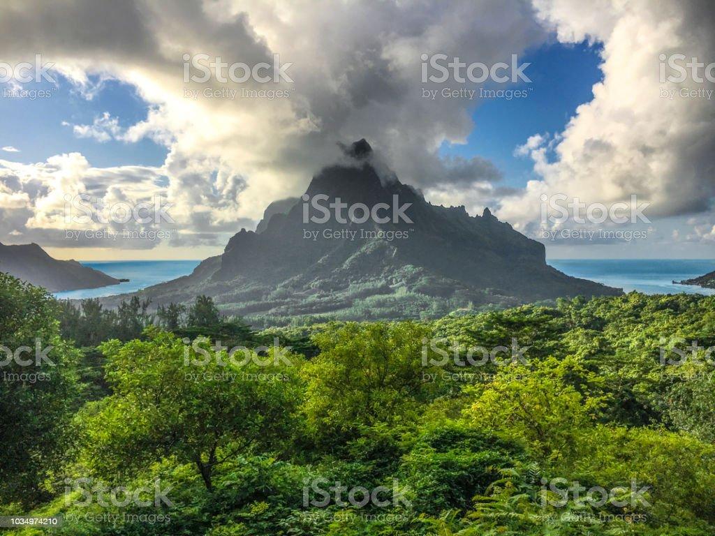Mount Routui stock photo