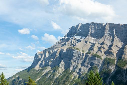 Mount Rundle in Summer, Banff, Alberta, Canada
