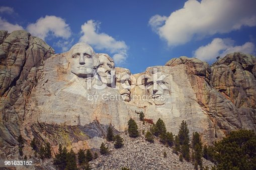 Mount  Rushmor  National Monument  Sounth Dakota,USA