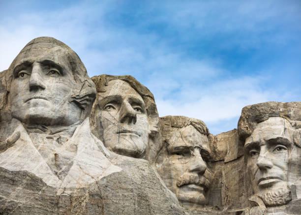 monte rushmore quatro presidentes - presidents day - fotografias e filmes do acervo