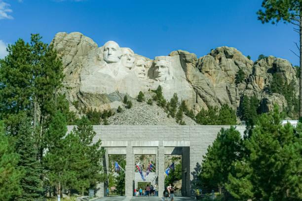Mount Rushmore National Memorial - Keystone, South Dakota stock photo