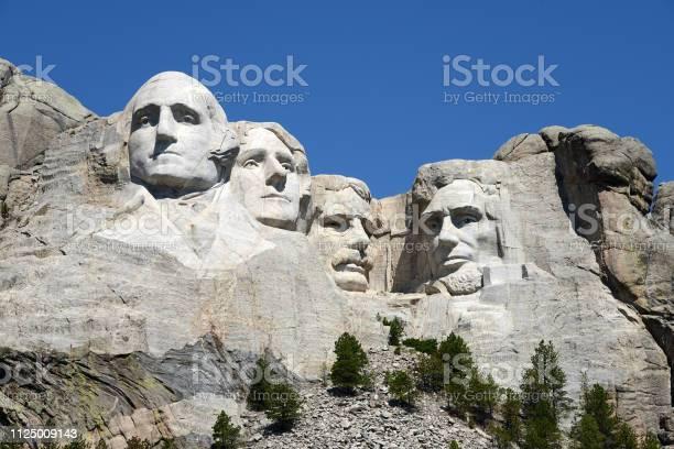 Mount Rushmore Nationaal Monument Stockfoto en meer beelden van Abraham Lincoln