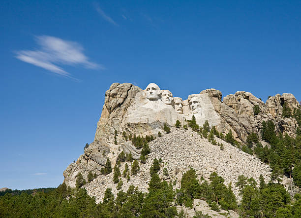 Mount Rushmore National Monument Mount Rushmore National Monument mount rushmore stock pictures, royalty-free photos & images