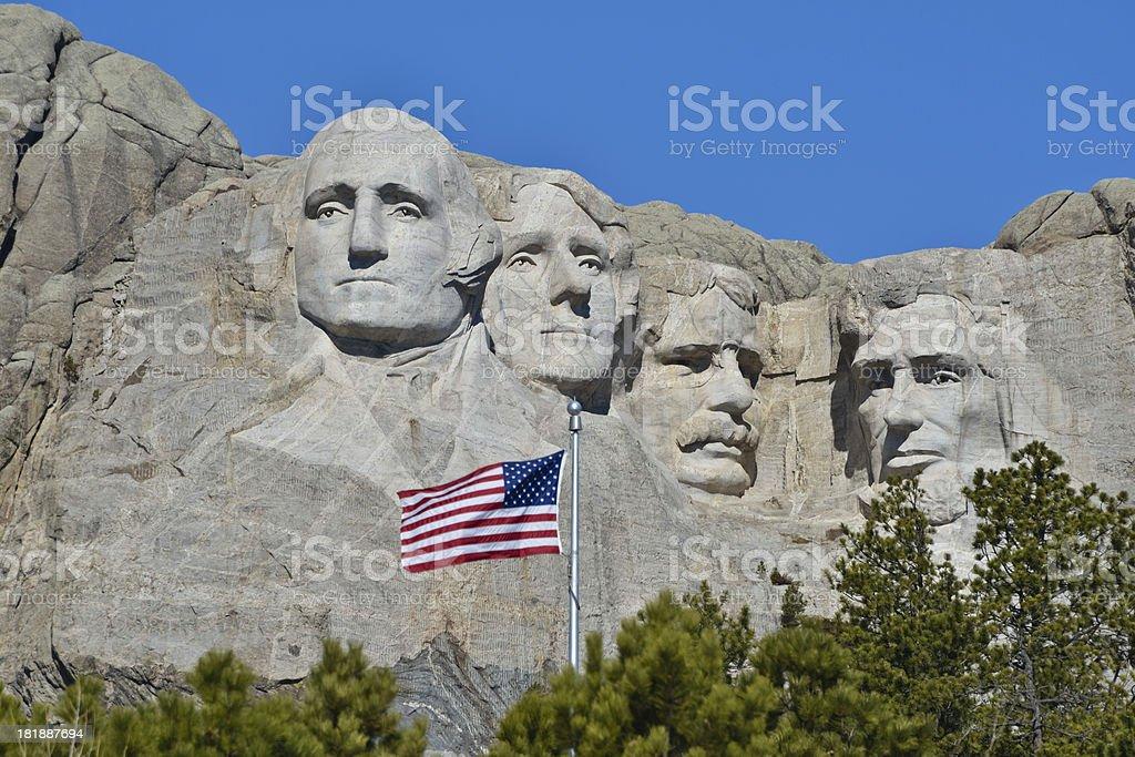 Mount Rushmore National Monument stock photo
