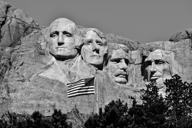 monumento nacional monte rushmore - presidents day - fotografias e filmes do acervo
