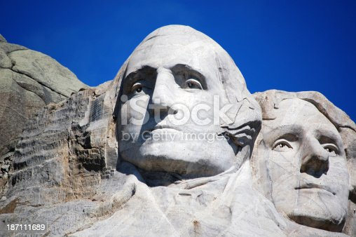 1195382882istockphoto Mount Rushmore National Monument Washington and Jefferson Only 187111689