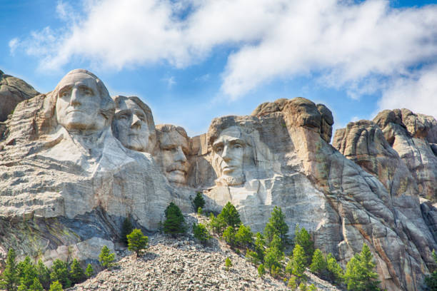 Mount Rushmore Mount Rushmore National monument in South Dakota. mount rushmore stock pictures, royalty-free photos & images