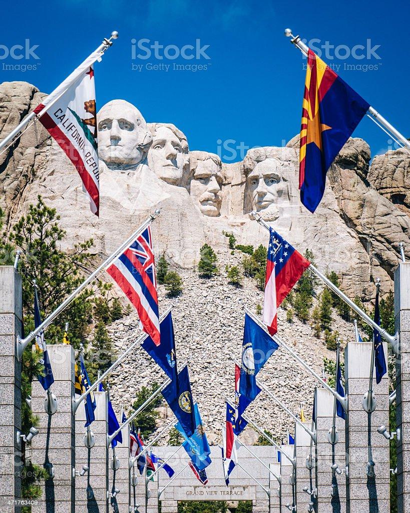 Mount Rushmore South Dakota stock photo