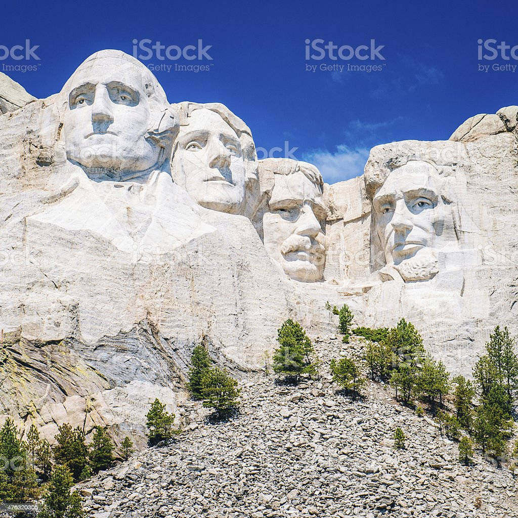 Mount Rushmore South Dakota royalty-free stock photo