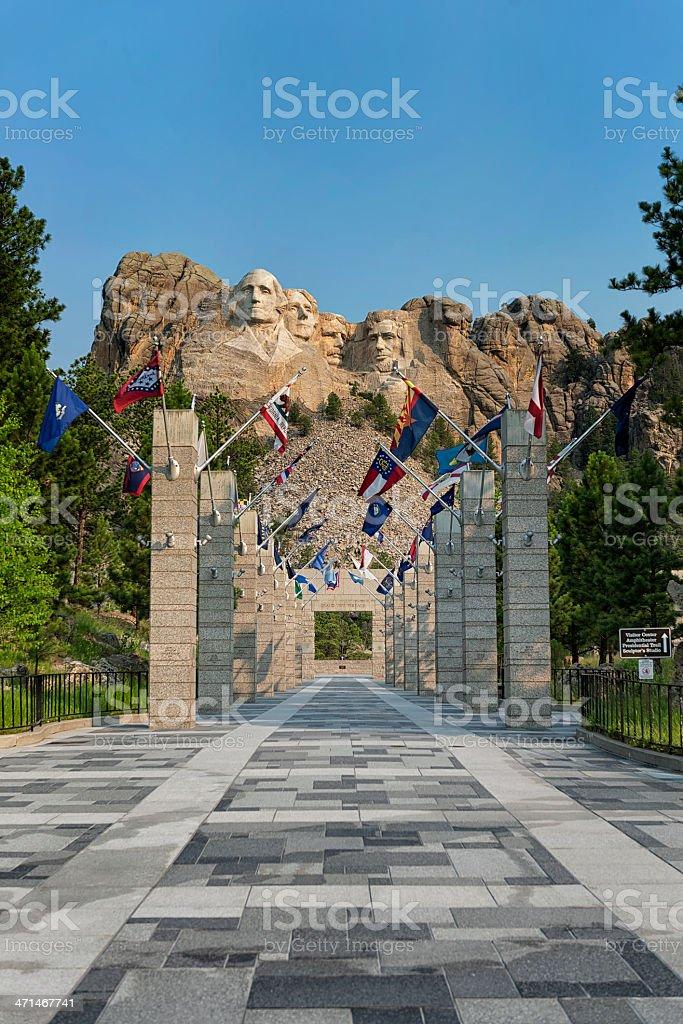 Mount Rushmore, South Dakota   XXXL stock photo