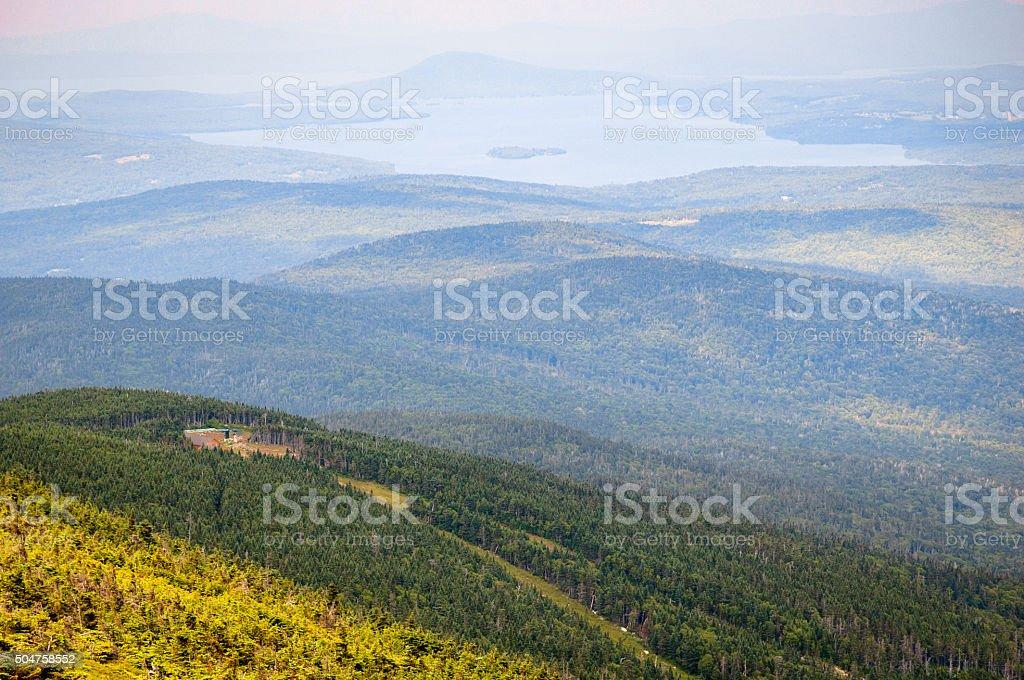 Mount Saddleback stock photo