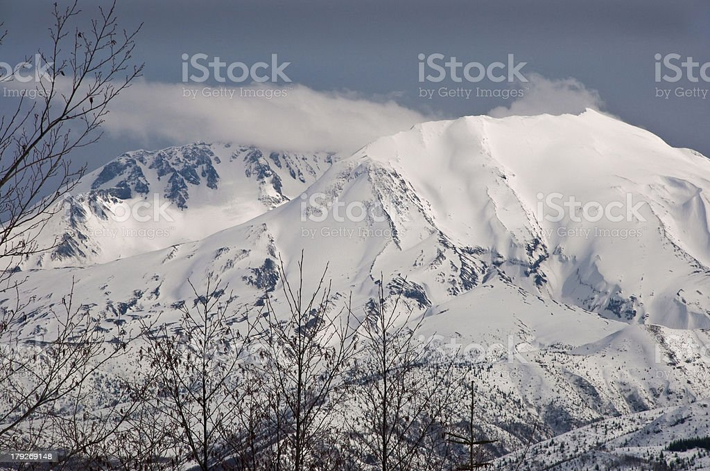 Mount Saint Helens royalty-free stock photo