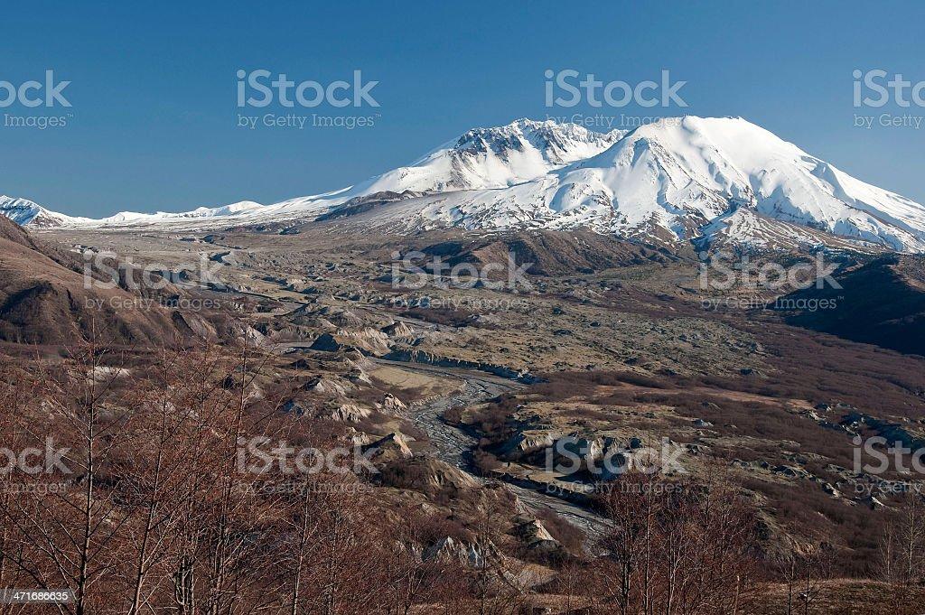 Mount Saint Helens royalty-free stock photo