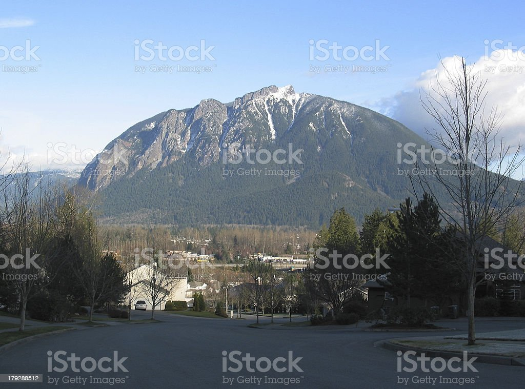Mount Si stock photo