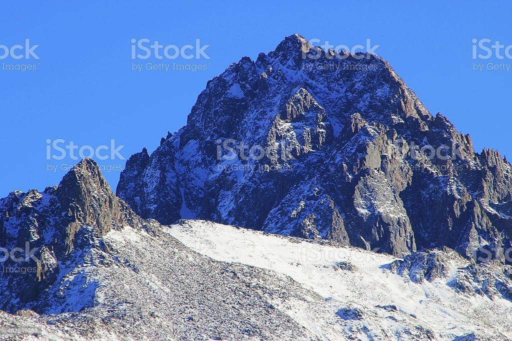 Mount Sneffels, Uncompahgre National Forest, Colorado stock photo