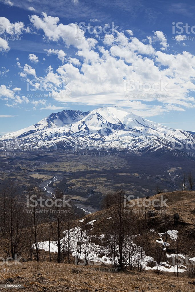Mount St. Helens royalty-free stock photo