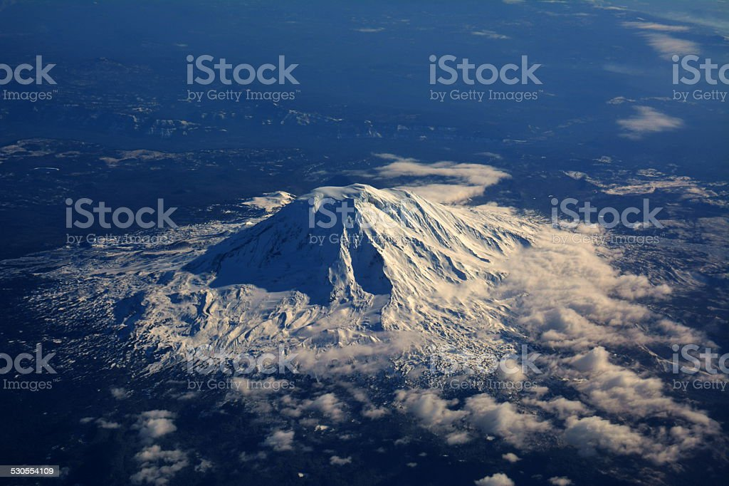 Mount St. Helens stock photo