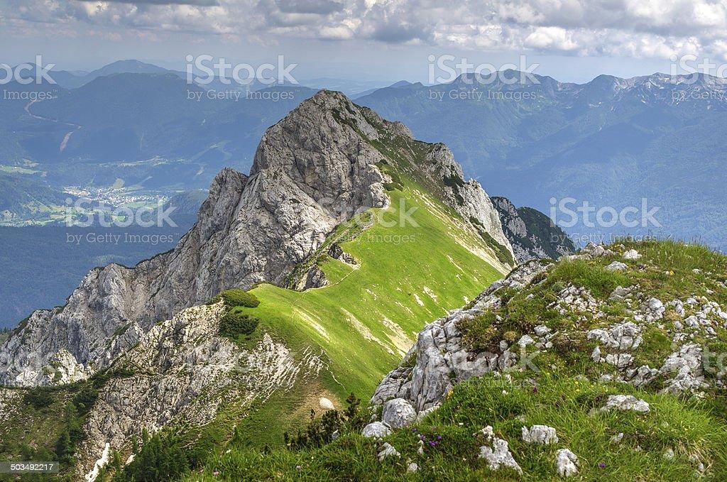 Mount Stog in Julian Alps royalty-free stock photo