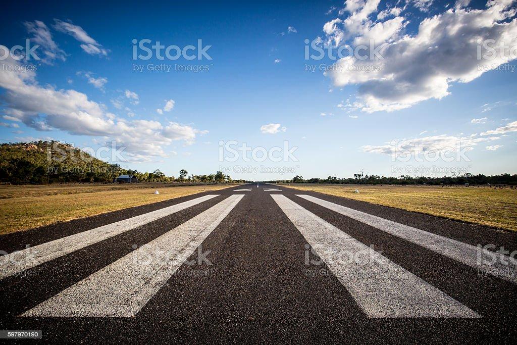 Mount Surprise Airport stock photo