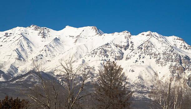 Berg Mount Timpanogos aus dem Südwesten – Foto