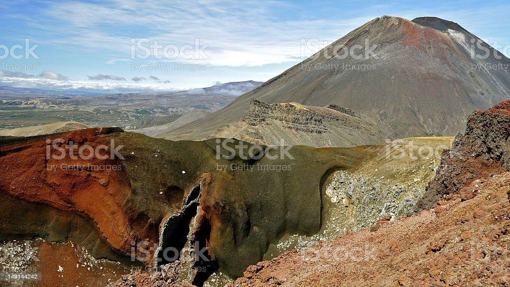 Mount Tongariro - New Zealand, 2011 stock photo
