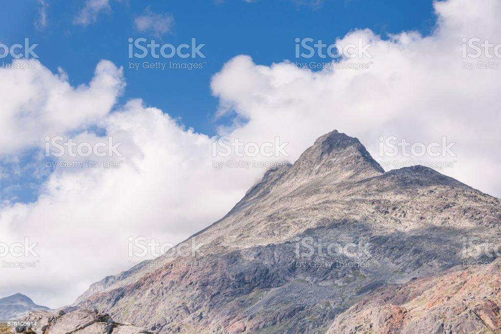 Mount Uranostinden in Jotunheimen National Park in summer stock photo