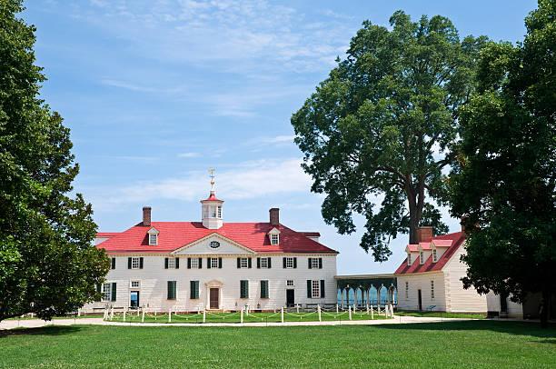 Mount Vernon stock photo