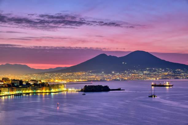 Vesuv und der Golf von Neapel – Foto