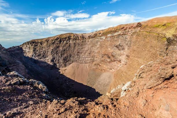 Vesuv Vulkankrater, Italien – Foto
