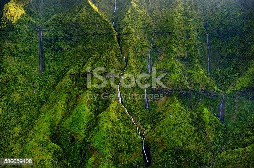 istock Mount Waialeale known as the wettest spot on Earth 586059408