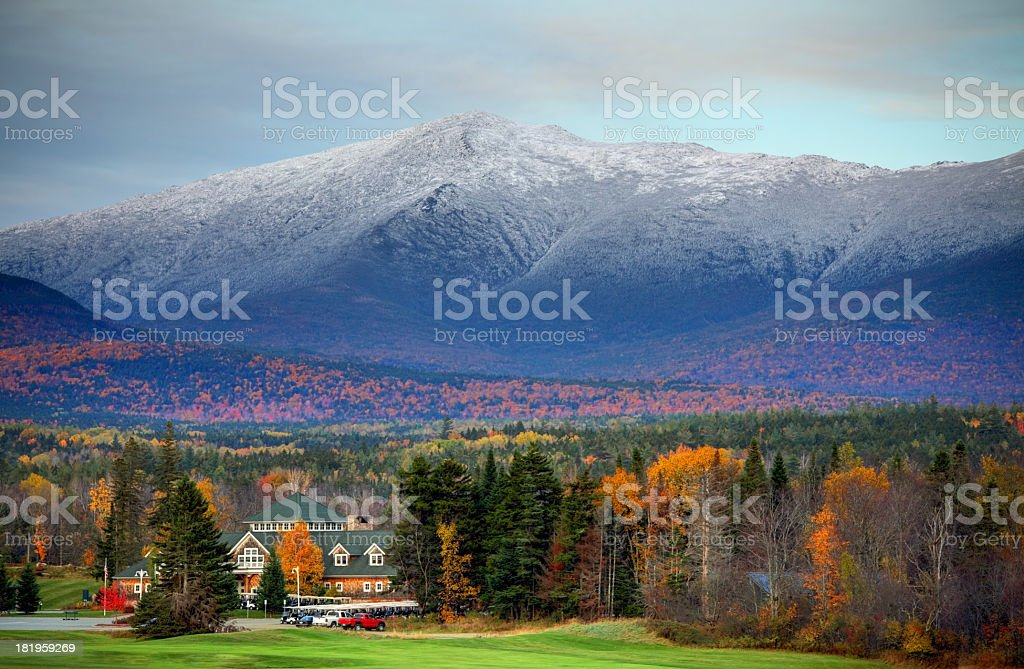 Mount Washington stock photo