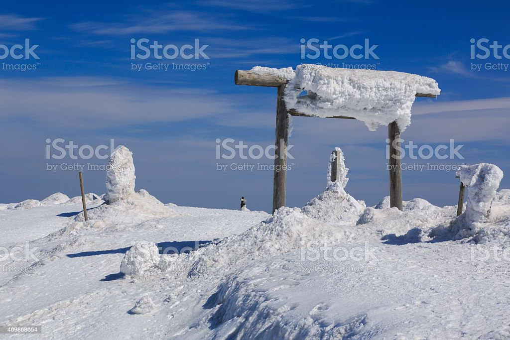 Mount Zao005 stock photo