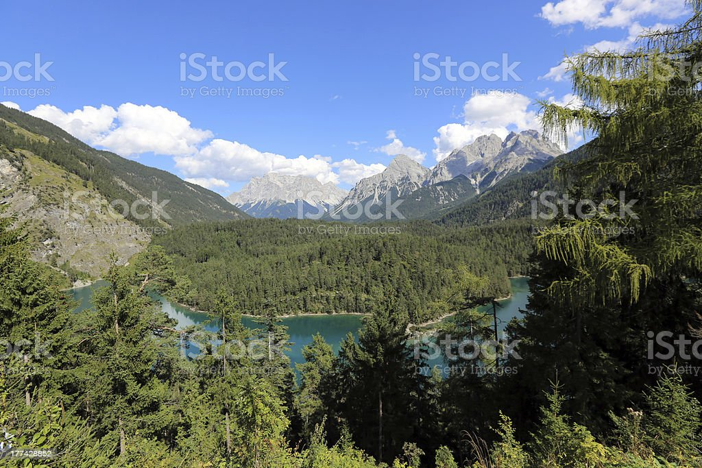 Mount Zugspitze royalty-free stock photo