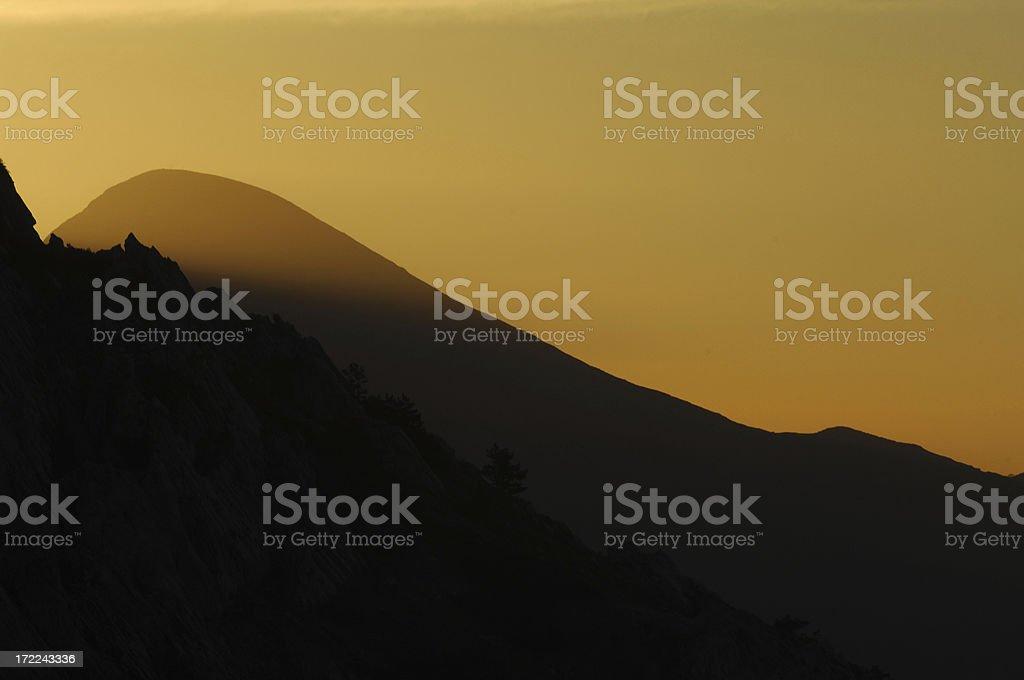 mountain 1 royalty-free stock photo