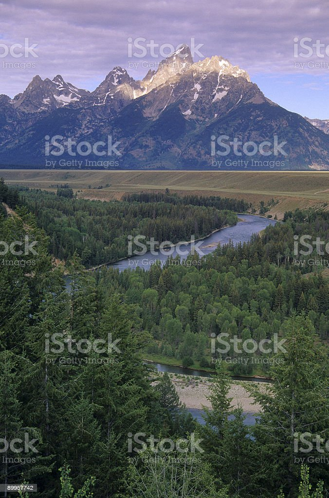 Mountain 20 stock photo
