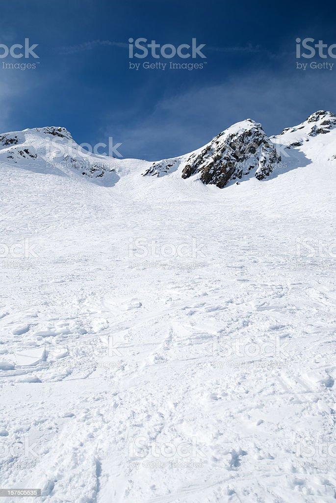 Mountain abstract stock photo