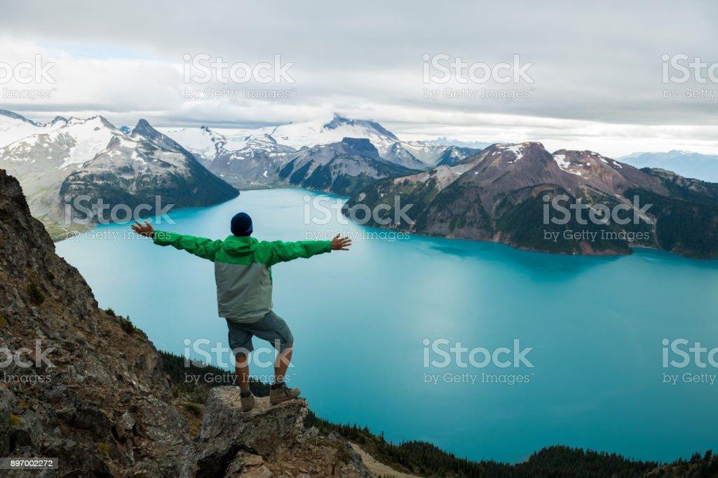 Mountain Adventure stock photo