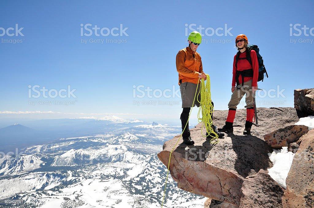 Mountain Adventure royalty-free stock photo
