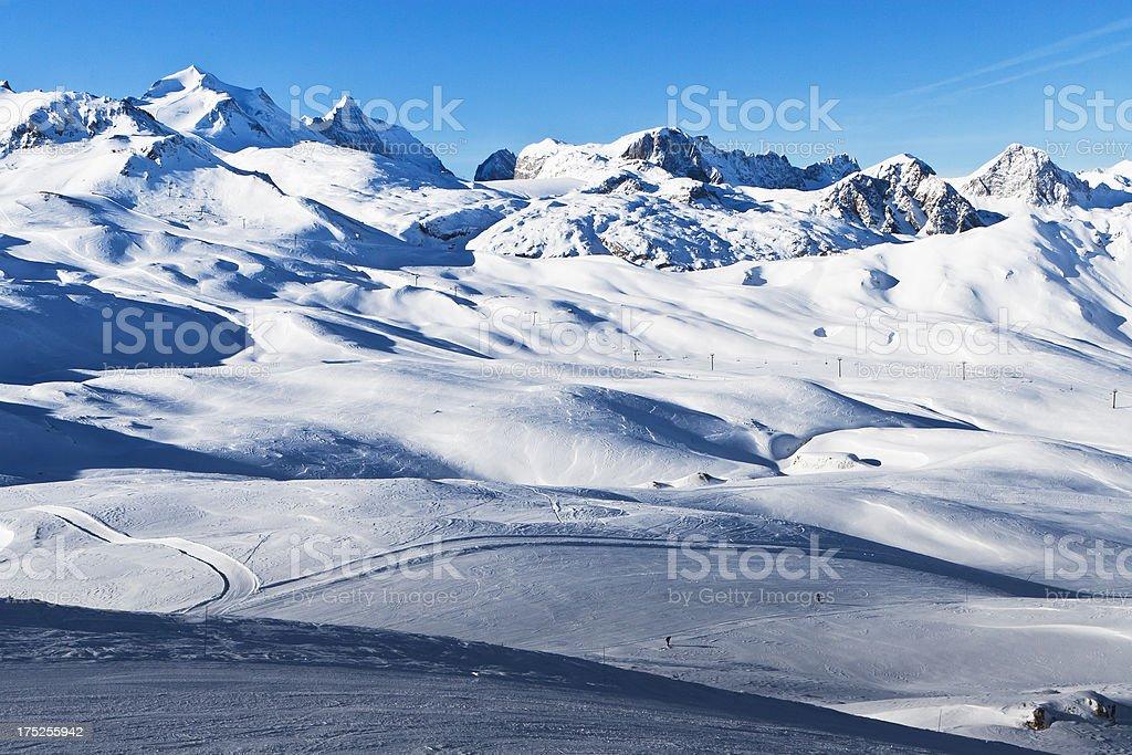Mountain Alps royalty-free stock photo