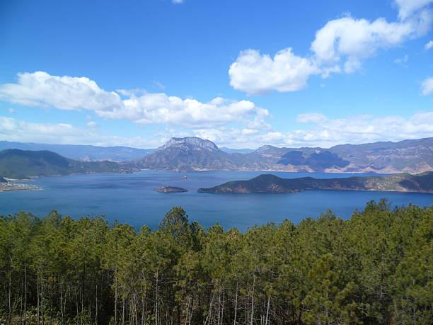 산, 호수 - 쿤밍 뉴스 사진 이미지