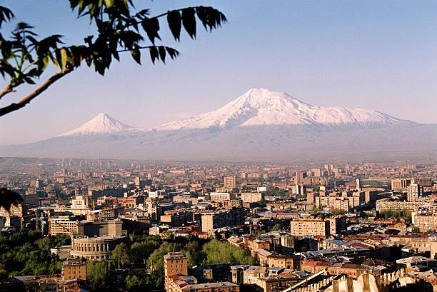 Mountain Ararat stock photo