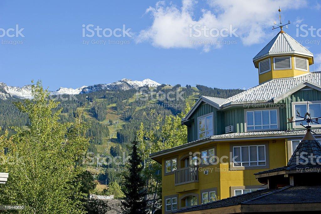 Mountain Architecture stock photo