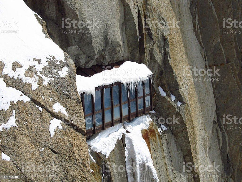 Mountain architecture royalty-free stock photo